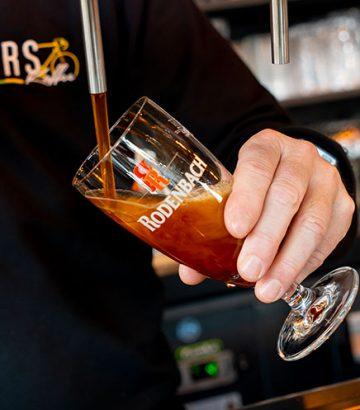 Rodenbach bier van het vat