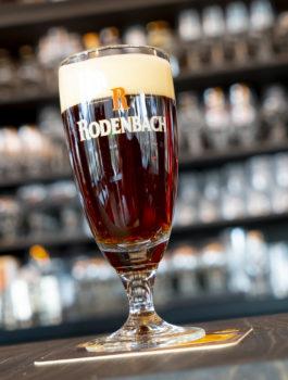 Lokaal Rodenbach bier van Roeselare